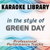 In the Style of Green Day (Karaoke - Professional Performance Tracks)