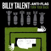 Turn Your Back (With Anti-Flag) - Single cover art