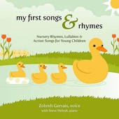 My First Songs & Rhymes: Nursery Rhymes, Lullabies & Action Songs for Young Children
