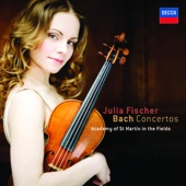 Julia Fischer & Academy of St. Martin in the Fields - J.S. Bach: Violin Concertos  artwork