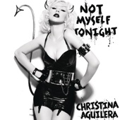 Not Myself Tonight - Single cover art