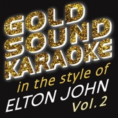 Goldsound Karaoke - True Love (Karaoke Version) [in the Style of Elton John & Kiki Dee] grafismos