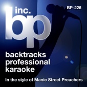 Karaoke - In the Style of Manic Street Preachers (Karaoke Version)