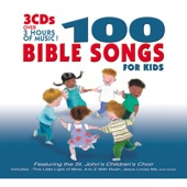 100 Bible Songs for Kids - The Countdown Kids Cover Art