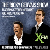 Ricky Gervais, Stephen Merchant & Karl Pilkington - The XFM Vault: The Best of The Ricky Gervais Show with Stephen Merchant and Karl Pilkington, Volume 1 (Unabridged)  artwork