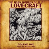 The Dark Worlds of H. P. Lovecraft, Volume 1 - H. P. Lovecraft Cover Art