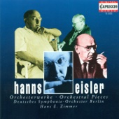 Eisler: Orchestral Pieces cover art