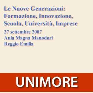 Le Nuove Generazioni: Formazione, Innovazione, Scuola, Universita [Video]