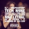 Bender (Remix) [feat. Tech N9ne, Mac Lethal, Irv da Phenom, Jl of B.Hood, Joey Cool, Dutch Newman & Godemis] - Single, Center Of Attention