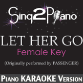 [Download] Let Her Go (Female Key) [Originally Performed By Passenger] [Piano Karaoke Version] MP3