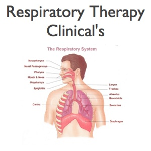 Respiratory Therapy Clinical's