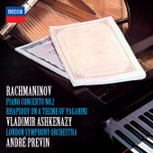 Rachmaninoff: Piano Concerto No. 2 & Rhapsody On a Theme of Paganini
