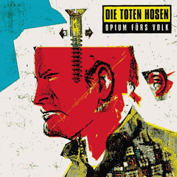 opium f rs volk album cover by die toten hosen. Black Bedroom Furniture Sets. Home Design Ideas