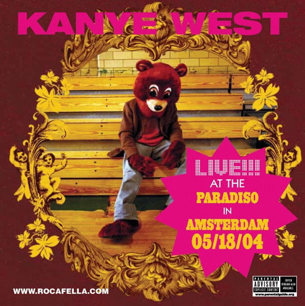 Kanye West - Jesus Walks (Live) - Single Cover