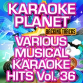 Various Musical Karaoke Hits, Vol. 36 (Karaoke Planet)