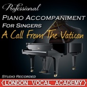 A Call From the Vatican ('Nine' Piano Accompaniment) [Professional Karaoke Backing Track]