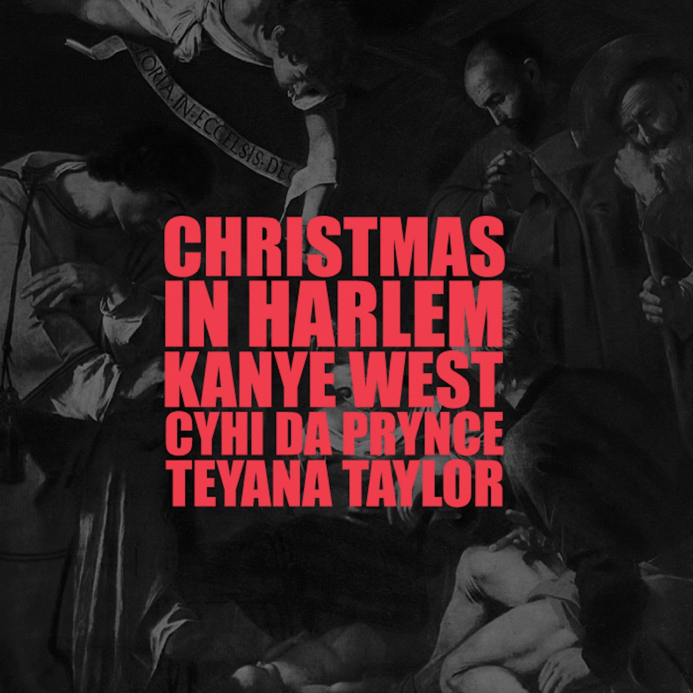 Kanye West - Christmas In Harlem (feat. Prynce Cy Hi & Teyana Taylor) - Single Cover