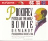 Prokofiev: Peter and the Wolf, Arthur Fiedler, André Gauthier, The Philadelphia Orchestra, Eugene Ormandy, David Bowie, Boston Pops Orchestra, Leo Litwin, Samuel Lipman & Martin Hoherman
