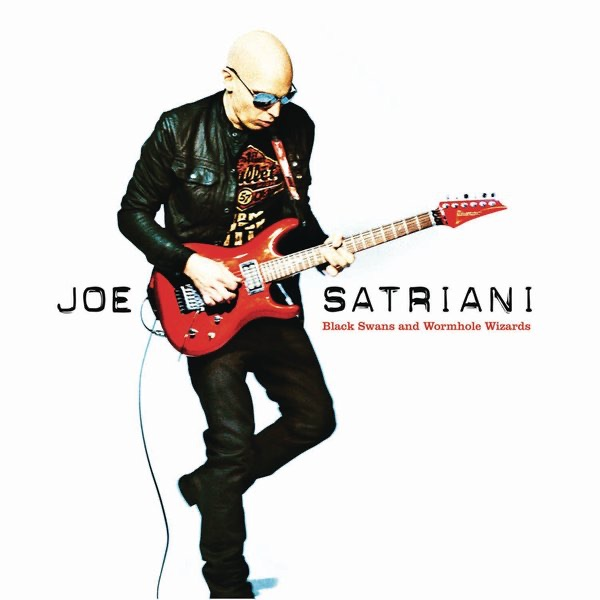 Black Swans and Wormhole Wizards Joe Satriani CD cover