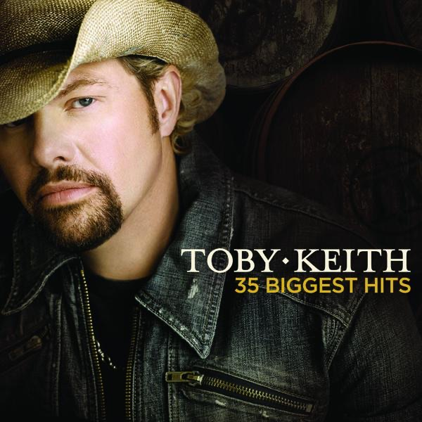 35 Biggest Hits Toby Keith CD cover