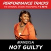 Not Guilty (Performance Tracks) - EP, Mandisa