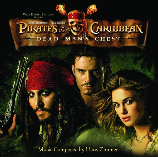 Pirates of the Caribbean Dead Mans Chest Soundtrack from the Motion Picture Hans Zimmer CD cover