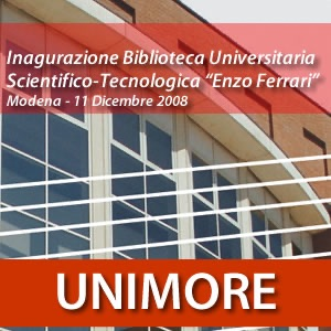 Inaugurazione biblioteca universitaria scientifico-tecnologica ENZO FERRARI [Video]