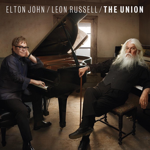 The Union Elton John  Leon Russell CD cover