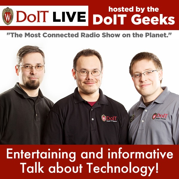 DoIT Live, hosted by The DoIT Geeks