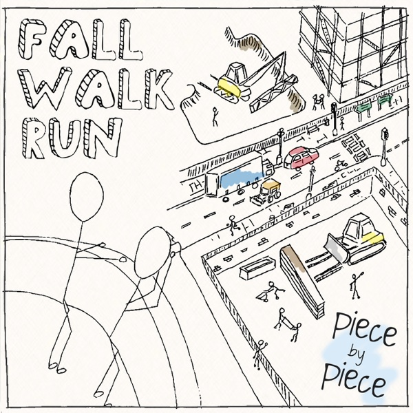 Piece By Piece - EP Fall Walk Run CD cover