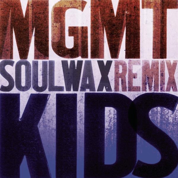 Kids Soulwax Remix - Single MGMT CD cover