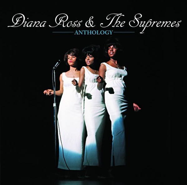 Anthology Diana Ross  The Supremes CD cover