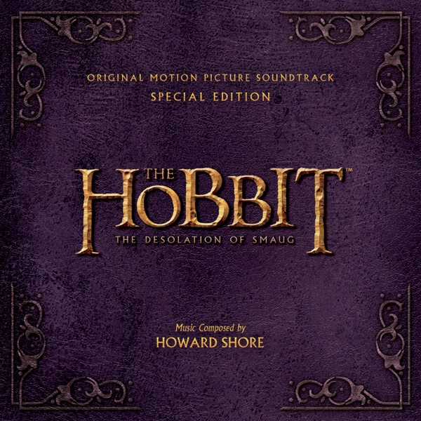 The Hobbit The Desolation of Smaug Original Motion Picture Soundtrack Special Edition Howard Shore CD cover
