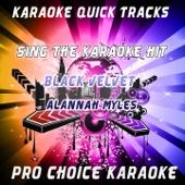 Karaoke Quick Tracks - Black Velvet (Originally Performed By Alannah Myles)