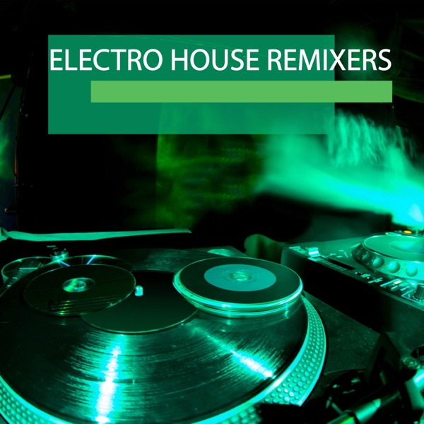 Electro house remixers album cover by various artists for Album house music