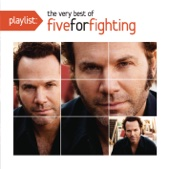 Playlist: The Very Best of Five for Fighting cover art