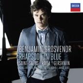 Benjamin Grosvenor, James Judd & Royal Liverpool Philharmonic Orchestra - Gershwin: Rhapsody in Blue - Saint-Säens: Piano Concerto No. 2 - Ravel: Piano Concerto in G  artwork