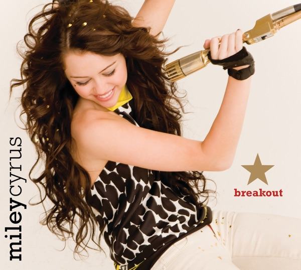 Breakout Miley Cyrus CD cover
