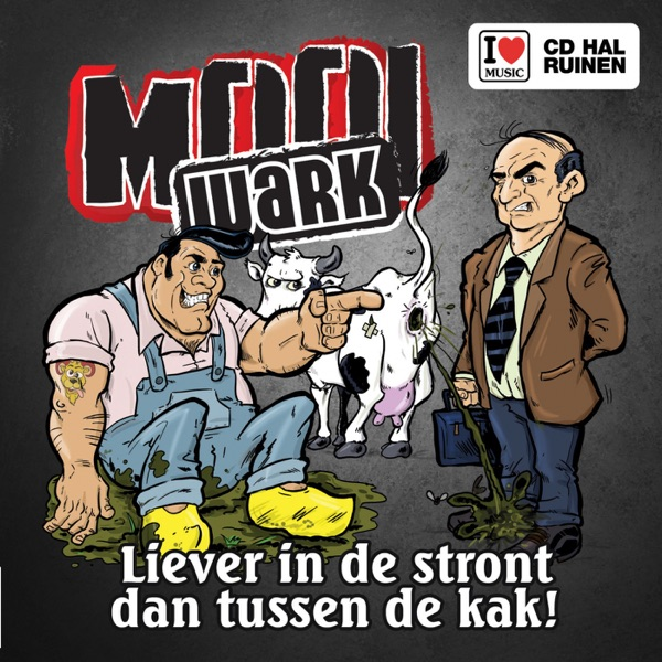 Liever In De S****t Dan Tussen De K*k - Single
