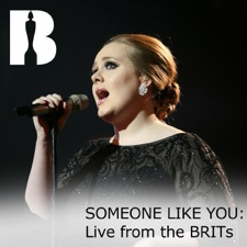 Someone Like You (Live from the BRITs) by Adele