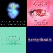 / MELANCHOLICIA / Sweet Avant Garde / Project かのん / Arrhythmia /
