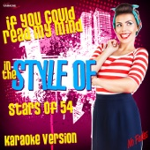 If You Could Read My Mind (In the Style of Stars of 54) [Karaoke Version]