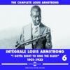 Intégrale Vol. 6 (1931-1933), Louis Armstrong