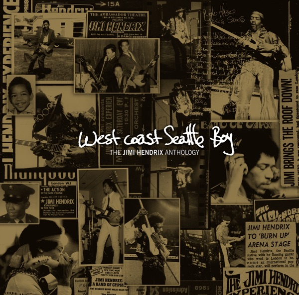 West Coast Seattle Boy The Jimi Hendrix Anthology Jimi Hendrix CD cover