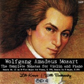 Wolfgang Amadeus Mozart : The Complete Sonatas for Violin and Piano, CD 4 (1957)