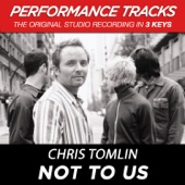 Not to Us (Performance Tracks) - EP cover art