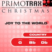 Country Christmas Primotrax - Joy To the World - Performance Tracks - EP
