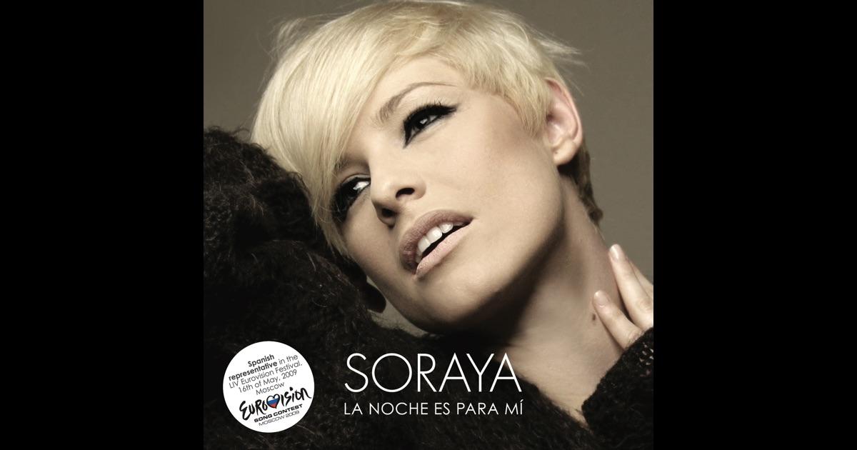 babypod,eurovision song contest,la noche es para m0ed,moscow,soraya arnellas,spain