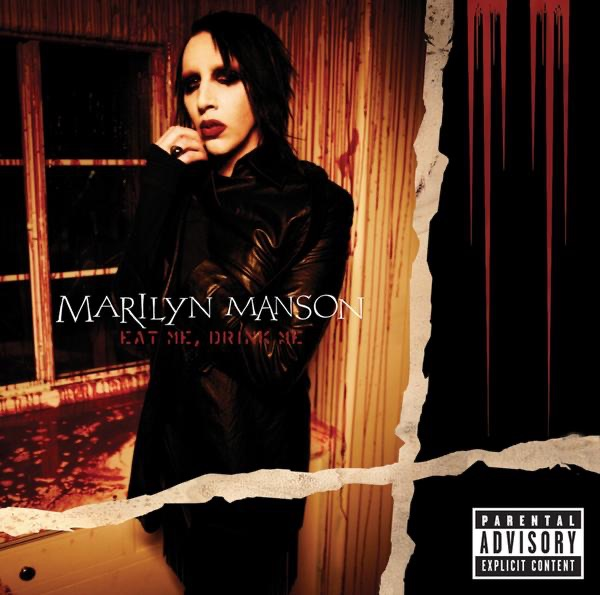 Eat Me Drink Me Bonus Track Version Marilyn Manson CD cover