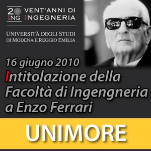 Intitolazione della Facoltà di Ingegneria a Enzo Ferrari [Video]